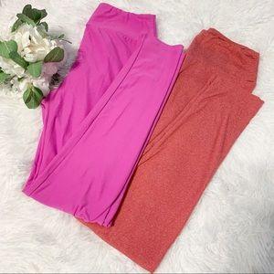 Lularoe bundle of 2 one size leggings